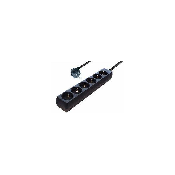 Produžna letvica TM NV4  Black, TRN-NV4