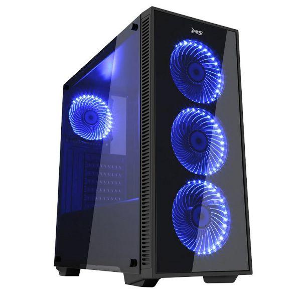 Računalo ADM Back to School Superior Bundle, i5-7400 3.0GHz, 8GB DDR4, 240GB SSD, RX570, Win 10 home + + Monitor/Miš/Tipkovnica/Podloga