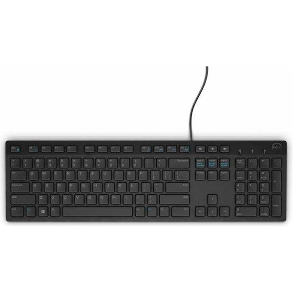 Tipkovnica DELL KB216 USB 2.0, Black, Retail, HR layout