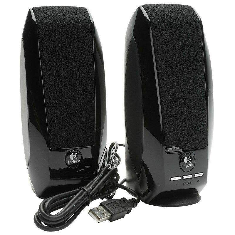Logitech S150 zvučnici 2.0 USB Black, 980-000029