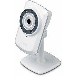 D-Link DCS-932L, Wireless N Home IP Security Camera, 1/5 inch color VGA CMOS Sensor, 1 lux sensivit