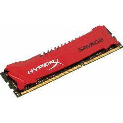 DDR3 4GB (1x4GB) PC3-19200 2400MHz CL11 Kingston Savage, HX324C11SR/4