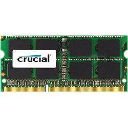 DDR3 4GB PC3-12800 1600Hz CL11, Crucial, CT51264BF160B, sodimm