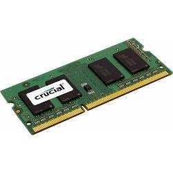 DDR3 8GB PC3-12800 1600MHz CL11, Crucial, CT102464BF160B, sodimm