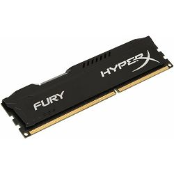 DDR3 8GB (1x8GB) PC3-12800 1866MHz CL10 Kingston HyperX Fury, HX318C10FB/8
