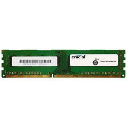 DDR3 8GB (1x8GB) PC3-12800 1600MHz CL11 Crucial, CT102464BA160B