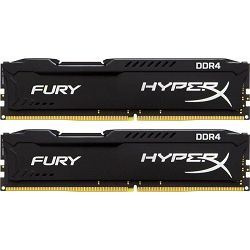 DDR4 16GB (2x8GB) PC4-17000 2133MHz CL14, Kingston HyperX Fury, HX421C14FBK2/16