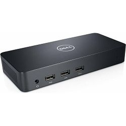 DELL D3100 Docking Station USB 3.0 Ultra HD 3x video