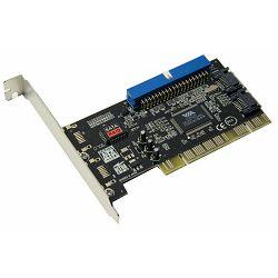 Kontroler SATA + ATA, 2xsata + 1xata, Asonic, PCI, VIA VT6421A