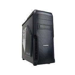 Zalman Z3 PLUS mid tower case. 192(W)x465(H)x430(D)mm. MB standard: Standard ATX / Micro ATX. PSU s