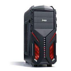 MS DRAGON; Gaming computer case MBO: ATX, mATX Vanjski utori: 3 x 5,25