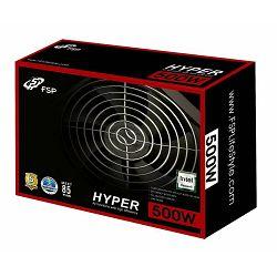 Napajanje Fortron 500W, Hyper, PPA5005003, 12cm ventilator, Active PFC, Učinkovitost: preko 85%, Ko