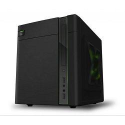 NaviaTec Z1, MATX / ITX Case Black • Case Size: 285*285*225mm • Drive Space: 1x Slim Optical Bay •