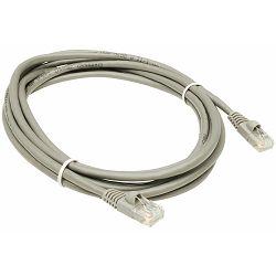Patch kabel UTP sivi, 3m