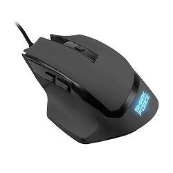 Sharkoon Shark Force optički igraći miš, USB, crni