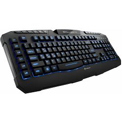 Sharkoon Skiller Pro igraća tipkovnica, USB, crna, Illuminating gaming keyboard, 3-block standard l