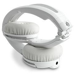 SteelSeries slušalice Flux Slušalice White, Frekvencijski raspon 18-28.000 Hz, Osjetljivost 118 dB