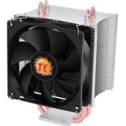 Thermaltake Contac 16, 775,AM2,AM2+,AM3,AM3+,FM1,1155,1156, 3-pin, Aluminum Fins + Aluminum Base, 2