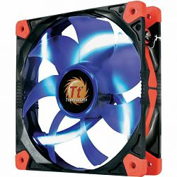 Thermaltake Luna 12 Blue, Promjer 12 cm, 1200 o/min, Buka u radu 20,7 dB(A), Tip ležaja sleeve bear