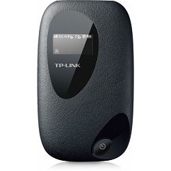 TP-Link M5350, 3G Mobile Wi-Fi, s internal 3G Modem, SIM card slot, OLED display, microSDslot, HSPA