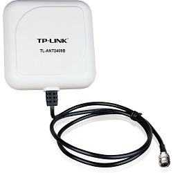 TP-LINK TL-ANT2409B, 2.4GHz 9dBi Outdoor Directional Panel Antenna, Cable length=1m, N-type connect